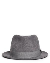 Nobrand Hackman Wool Felt Fedora Hat