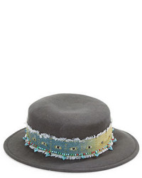 Kathy Jeanne Wool Felt Pork Pie Hat