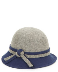 Giovannio Knot Accent Wool Cloche