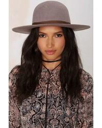 Brixton Magdalena Wool Hat Gray