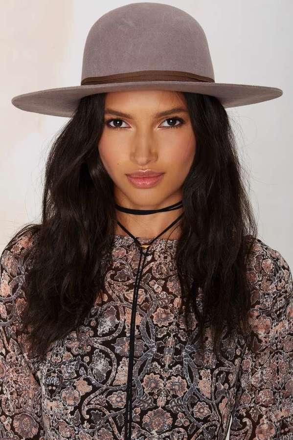 ... Brixton Magdalena Wool Hat Gray ... 0a0270c193af
