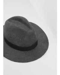 Mango Man Wool Fedora Hat