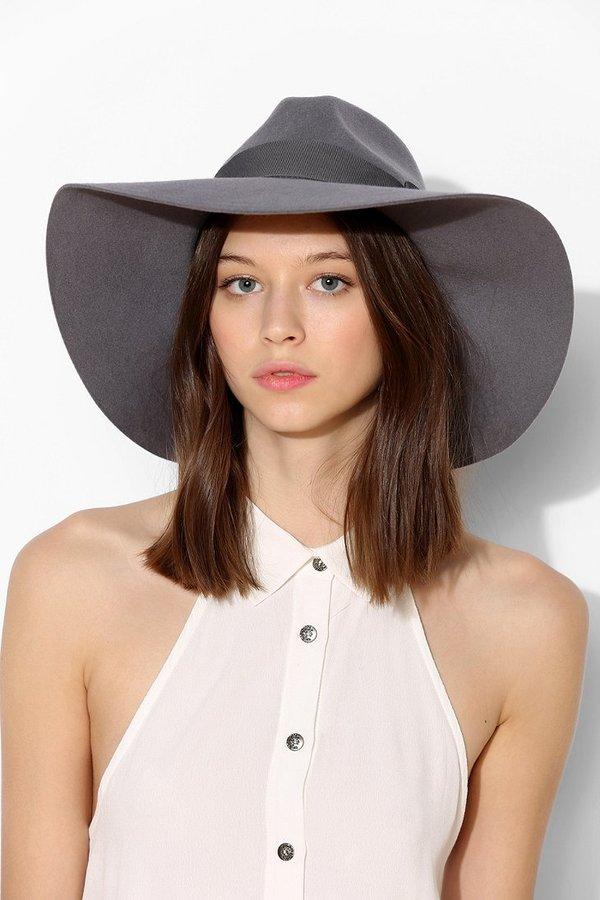 ad57bc65d259a ... Brixton Piper Felt Hat ...