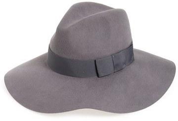 7e21b198f44 ... reduced grey wool hats brixton piper floppy wool hat 11e96 8d1b1