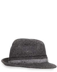 Paul Smith Punch Stripe Wool Trilby Hat