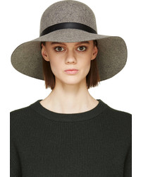 Rag and Bone Rag Bone Grey Wool Dunaway Hat