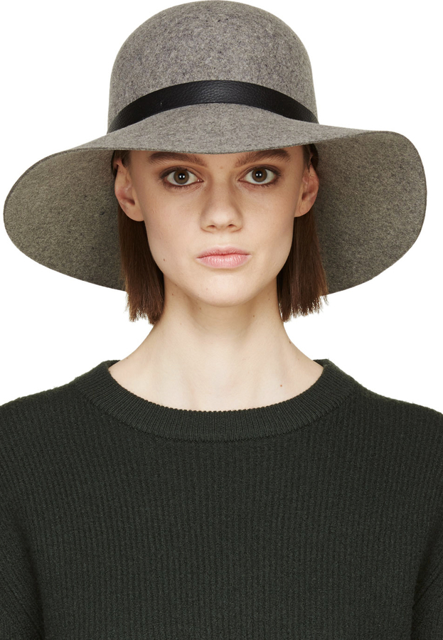 ... Rag and Bone Rag Bone Grey Wool Dunaway Hat ... 77c2c32dfbb