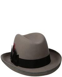 Scala Classico Wool Felt Homburg Hat