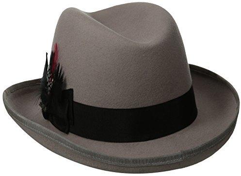c7ef77da Scala Classico Wool Felt Homburg Hat, $39 | Amazon.com | Lookastic.com