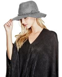 GUESS Wide Brim Wool Hat