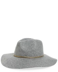Hinge Wool Panama Hat Red