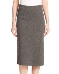 Rag and Bone Rag Bone Alanna Merino Wool Midi Skirt
