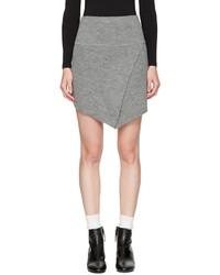 Isabel marant etoile grey blithe miniskirt medium 4392272