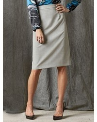 Pendleton Ultra 9 Stretch Wool Pencil Skirt