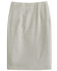 Petite pencil skirt in super 120s wool medium 522128