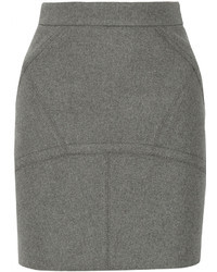 Alexander Wang T By Bonded Felt Mini Skirt
