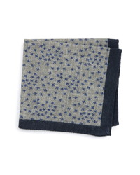 Ted Baker London Patterned Wool Pocket Square