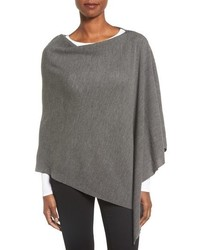 Eileen Fisher Fine Merino Wool Links Poncho