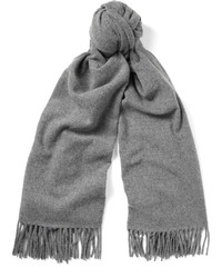 Acne Studios Canada Fringed Mlange Virgin Wool Scarf