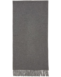 Acne Studios Grey Canada Narrow Scarf