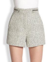 Proenza Schouler High Waisted Tweed Shorts