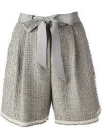 Lanvin Boucl Knit Shorts