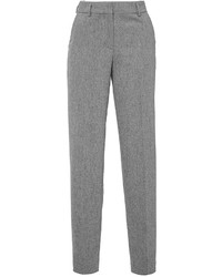 Giamba Grey Flannel Skinny Boyfriend Pants