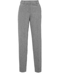 Giamba Grey Flannel Skinny Boyfriend Pants