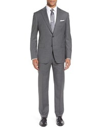 Pal Zileri Classic Fit Solid Wool Suit
