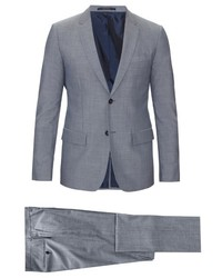 Jil Sander Collette Slim Fitting Wool And Cotton Blend Suit