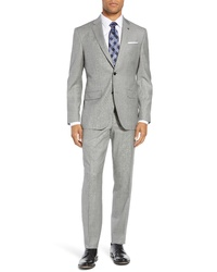 Ted Baker London Fit Solid Wool Suit