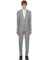 BOSS Grey Ed Slim Fit Suit