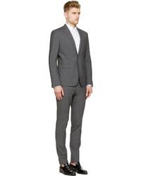 DSQUARED2 Grey Wool Paris Suit