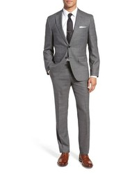 BOSS Johnstonslenon Classic Fit Solid Wool Suit