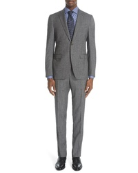 Canali Milano Classic Fit Solid Suit
