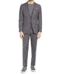 BOSS Novanben Slim Fit Wool Suit