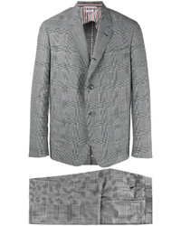 Thom Browne Prince Of Wales Two Piece Suit