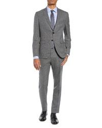 BOSS Reymondwenten Extra Slim Fit Solid Wool Suit