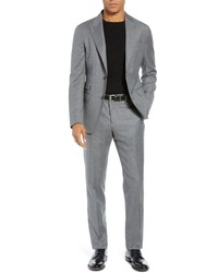 Eleventy Trim Fit Wool Suit