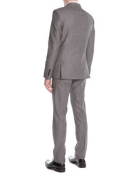 Givenchy Woolmohair Two Piece Suit Gray