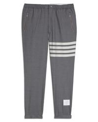 Thom Browne 4 Bar Wool Track Pants