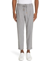 Eleventy Stretch Wool Jogger Trousers