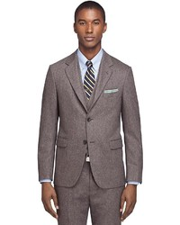 Brooks Brothers Cambridge Three Piece Donegal Tweed 1818 Suit