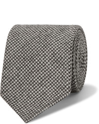 8cm puppytooth wool and cashmere blend tie medium 642229