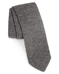 Brunello Cucinelli Reversible Knit Skinny Tie
