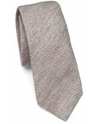 Brunello Cucinelli Solid Wool Silk Knit Tie