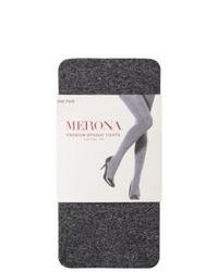 Commonwealth Merona Premium Control Top Opaque Tights Grey Sm