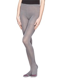 Silk rib tights medium 170099