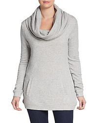 Cowl French Terry Tunic