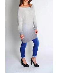 Dk Grey Sweater Tunic